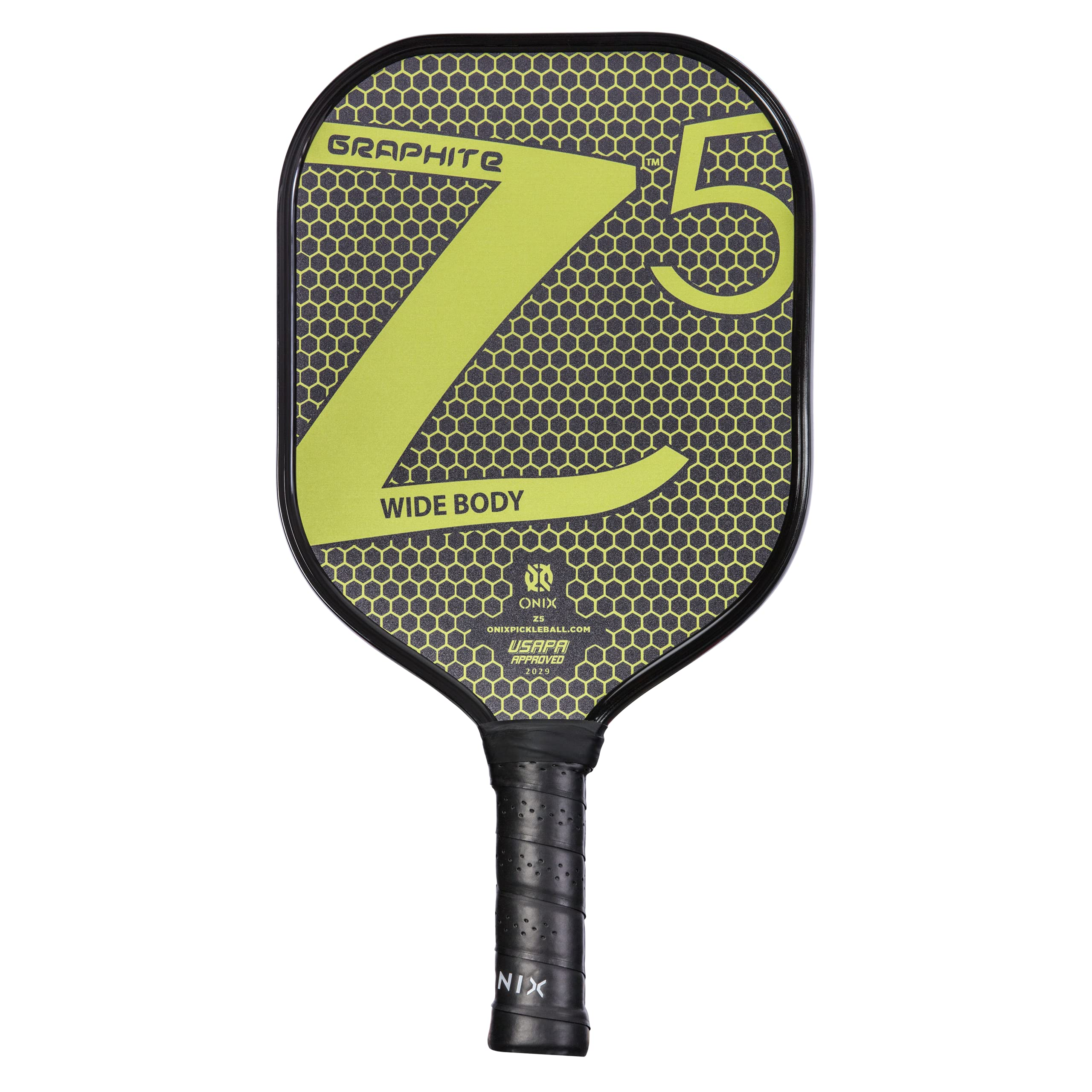 ONIX Graphite Z5 Graphite Carbon Fiber Pickleball Padd -P03X