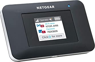 NETGEAR AirCard Mobile Hotspot 4G LTE Router AC797-100NAS - Up to 400Mbps Download Speed   WiFi Connect up to 15 Devices   Create a WLAN Anywhere   Unlocked to Use Any SIM Card