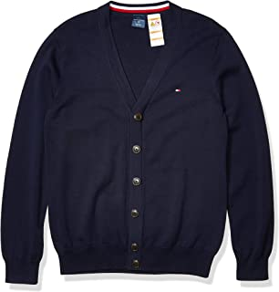 Men's Adaptive Cardigan Sweater with Magnetic Buttons