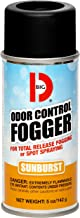 Big D 345 Odor Control Fogger, Sunburst Fragrance, 5 oz (Pack of 12) - Kills odors from fire, flood, decomposition, skunk, cigarettes, musty smells - Ideal for use in cars, property management, hotels