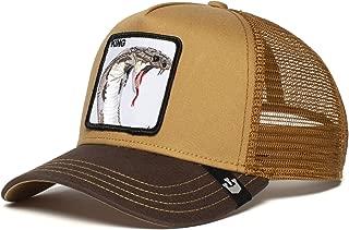 Exclusive Animal Farm Snapback Trucker Hat (Brown)