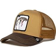 Goorin Bros. Exclusive Animal Farm Snapback Trucker Hat (Brown)