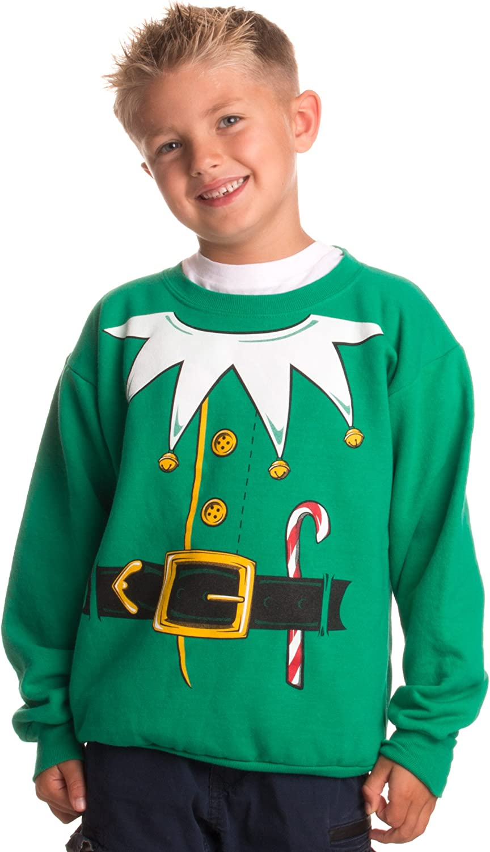 Kid's Santa's Elf Costume Novelty Max 73% OFF C Christmas Holiday Ranking TOP4 Sweater