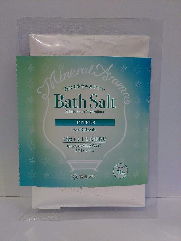 ペルソナ思慮のない義務海のミネラル&アロマ Bath Salt 雪塩+シトラスの香り