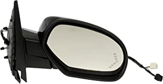 Dorman 955-1012 Passenger Side Power Door Mirror - Heated/Folding with Signal for Select Chevrolet/GMC Models, Black