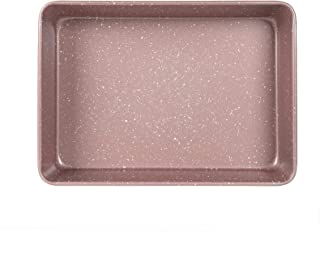 "Cook with Color Bakeware Non Stick Rectangular Pan, Speckled 9x13"" Baking Pan, Pan for Cooking (Rose Gold)"