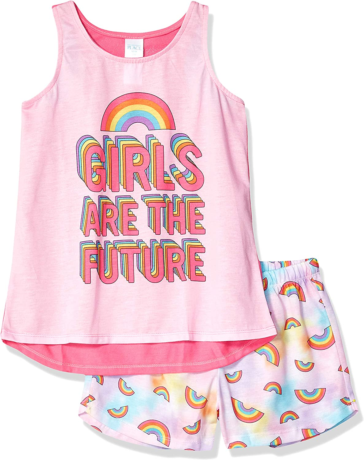 The Childrens Place Baby Girls Printed Casual Shorts