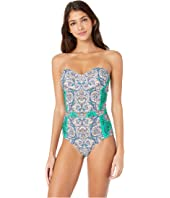 Tory Burch Swimwear - Printed Underwire One-Piece