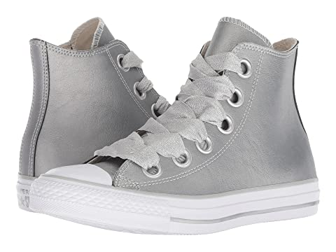 Metallic Gold All WhiteMetallic Silver Star Gold White Heavy Chuck Metals Taylor Silver Big Eyelets Converse Hi gEzwq7P