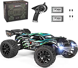 HAIBOXING RC Cars Hailstorm, 36+KM/H High Speed 4WD 1:18 Scale Electric Waterproof Truggy Remote Control Off Road Monster ...