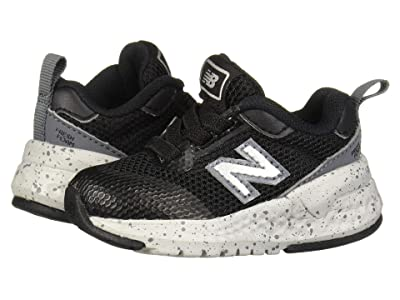 New Balance Kids 515 Sport (Infant/Toddler) (Black/Lead) Boys Shoes