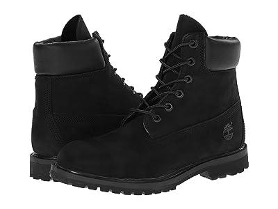 Timberland 6 Premium Boot (Black Nubuck) Women
