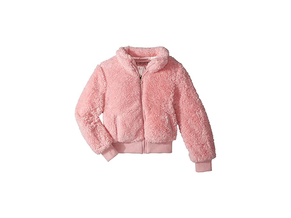 Urban Republic Kids Woobie Bomber Jacket (Little Kids/Big Kids) (Powder Pink) Girl