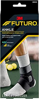 Futuro Sport Deluxe Ankle Stabilizer Adjustable 46645EN, Black -10255217