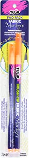 Tulip Fabric Markers (2 Pack), Neon Orange