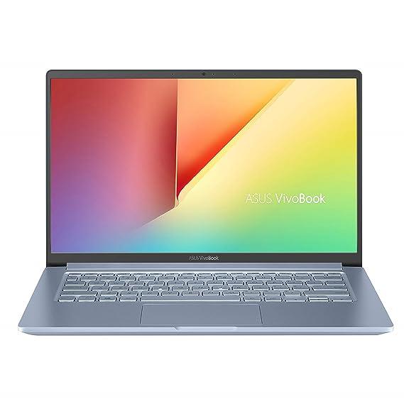 (Renewed) ASUS VivoBook S14 Intel Core i5-1035G1 10th Gen 14-inch FHD Thin and Light Laptop (8GB RAM/512GB NVMe SSD + 32GB Optane Memory/Windows 10/MS Office 2019/Silver Blue/1.35 kg), S403JA-BM033TS