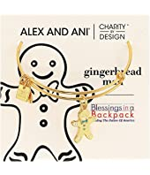 Alex and Ani - Charity By Design Gingerbread Man II