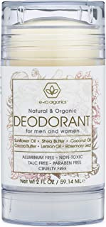 Aluminum Free Deodorant for Men & Women – Non-Toxic Natural & Organic Formula With Coconut Oil, Shea Butter, Rosemary, Ginger Root & More for Healthier, Softer Skin 2oz Era-Organics