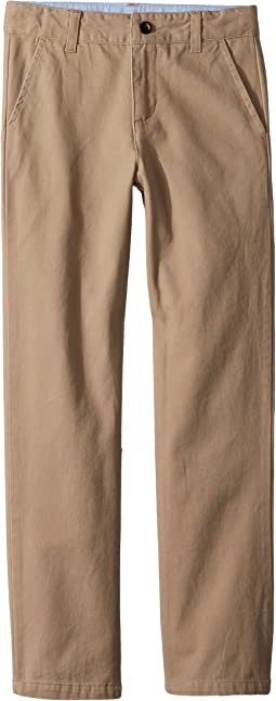 Twill Flat Front Pants (Toddler/Little Kids/Big Kids)