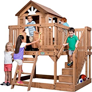 Backyard Discovery 1605336 Scenic Heights All Cedar Playhouse