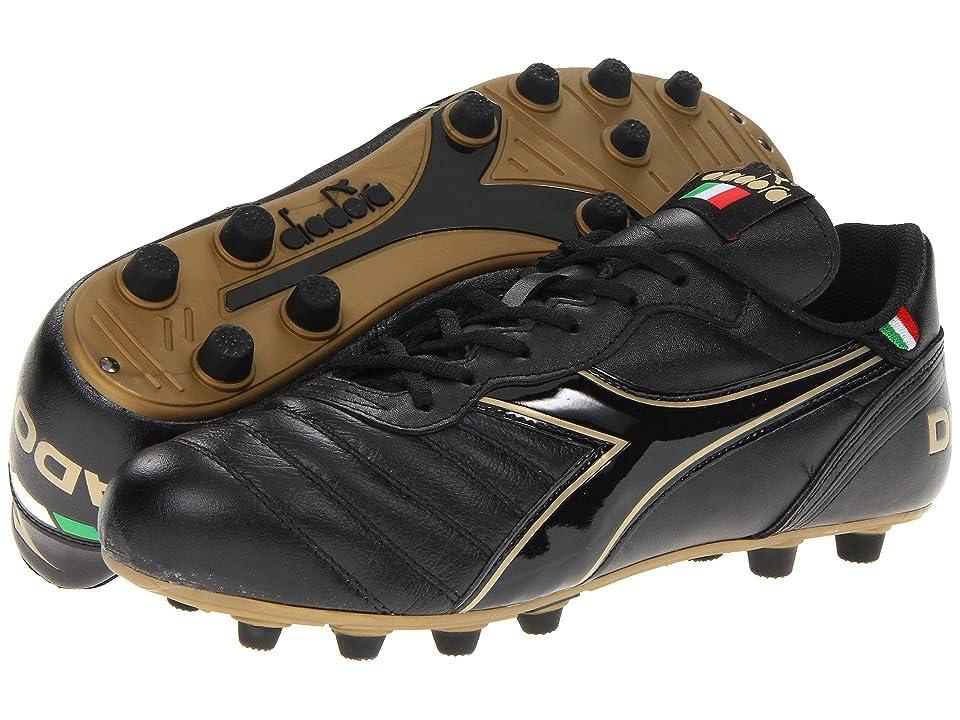1bdb14f771c ... UPC 760138685608 product image for Diadora - Brasil Classic  (Black Gold) Men s Soccer ...