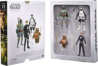 Star Wars Digital Release Commemorative Collection Box Set - Episode VI Return of the Jedi Action Figurines