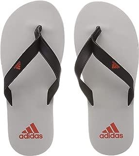 adidas Men's Eezay Flip Flop Shoes, Core Black/Raw Amber/Grey Two