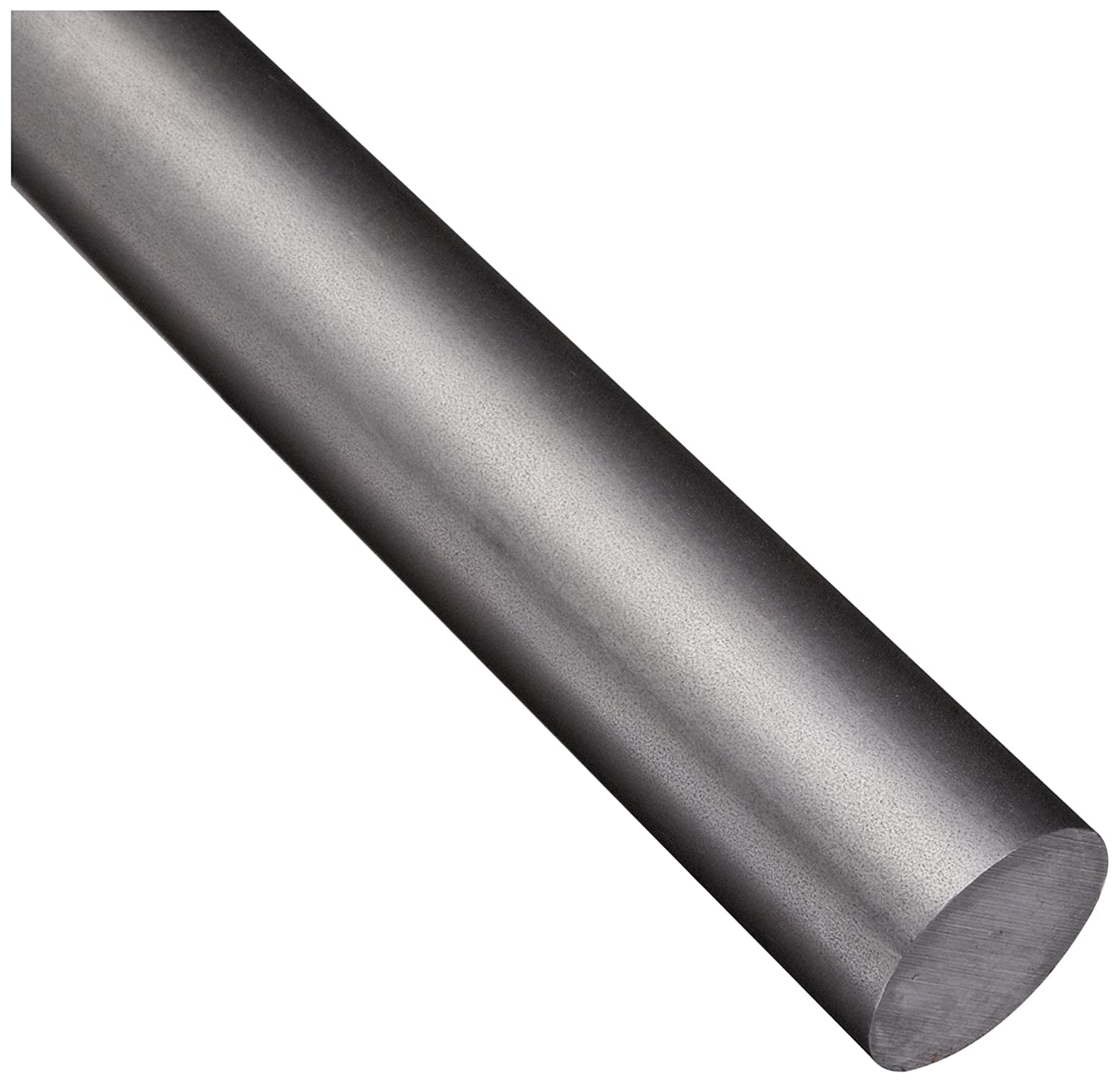 Unpolished Mill 1018 Carbon Steel Round Rod ASTM A108 60 Length 1.75 Diameter Cold Finished Temper Finish