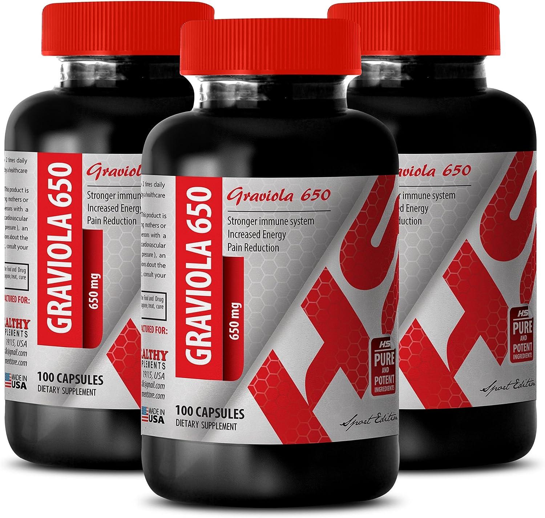 Graviola Ranking TOP15 Leaf Powder 5% OFF - Pure 650 GRAVIOLA MG Suppor