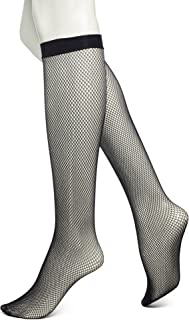 No Nonsense Women's Fishnet Knee High Trouser Sock