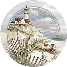 Thirstystone Stoneware Coaster Set, Beach Lighthouse