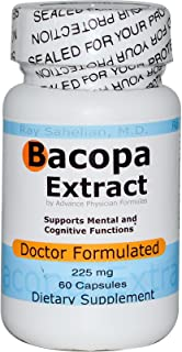 Advance Physician Formulas, Inc, Bacopa Extract, 225 mg, 60 Capsules