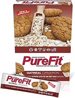 Purefit Oatmeal Cinnamon Bars, 15 Pieces