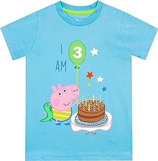 Peppa Pig Jongens T-Shirt George Pig 'ik ben 3'