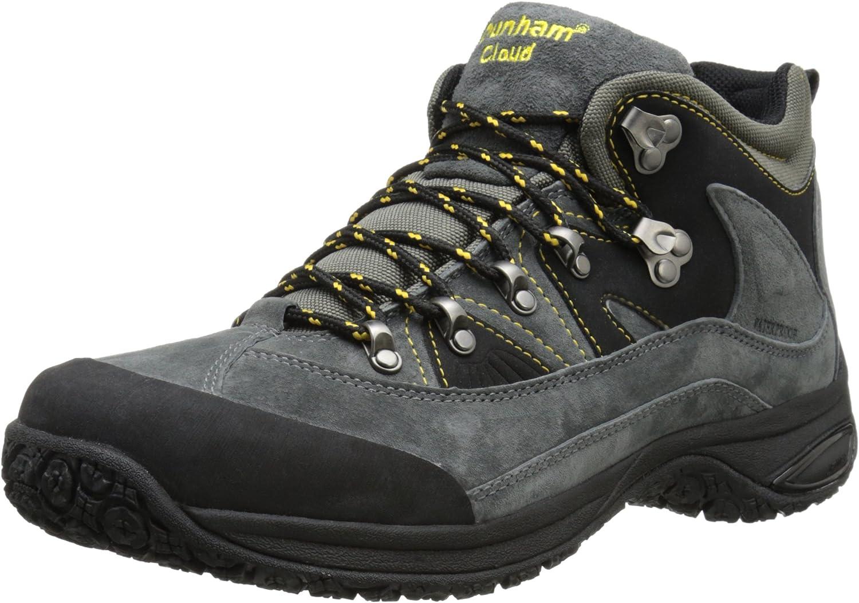 Dunham Men's Cloud Mid-Cut Waterproof Boot, Slate Black - 14 4E US