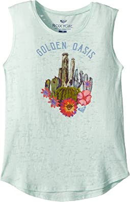 Golden Oasis Muscle Tee (Big Kids)