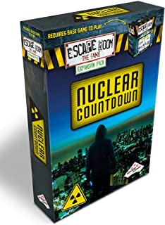 Escape Room The Game Expansion Pack – Nuclear Countdown | Solve The Mystery Board Game for Adults and Teens (English Version)