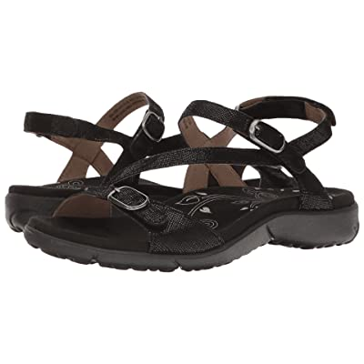 Taos Footwear Beauty (Black Printed Leather) Women