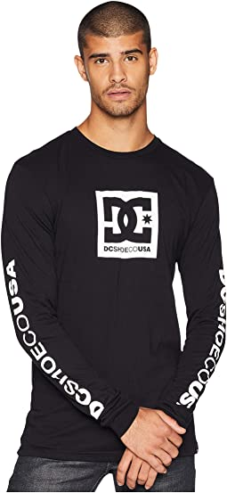 Square Star Long Sleeve Tee