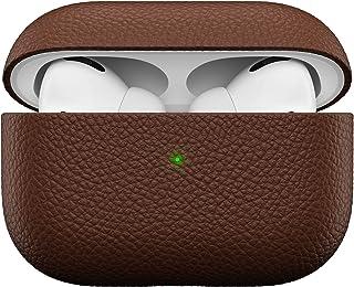 KeyBudz Artisan läderfodral för Apple AirPods Pro-fodral, fodral, läderfodral äkta läder, hörlurar hörlurar hörlurar, till...
