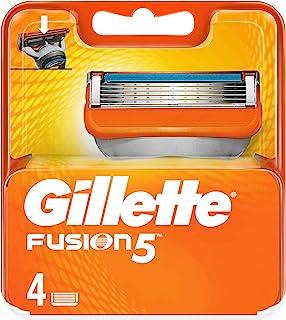 Gillette Fusion 5 reservemesjes voor heren, 4 stuks
