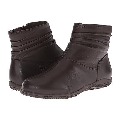 SoftWalk Hanover (Dark Brown Soft Nappa Leather) Women