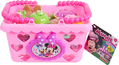 Minnie Bow Tique Bowtastic Shopping Basket Set, Pink (Styles may vary)
