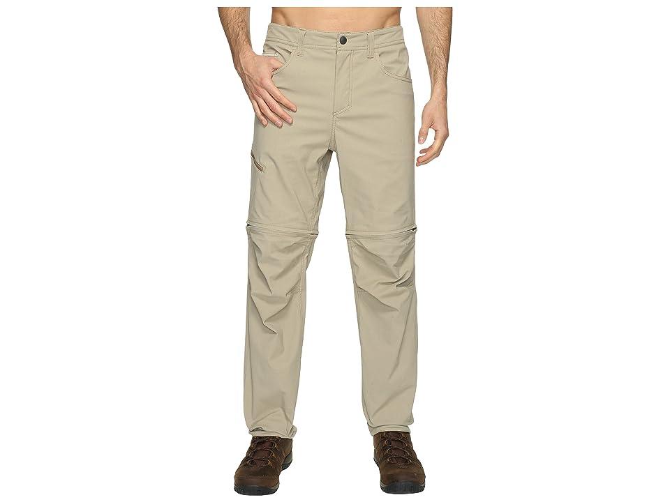 Royal Robbins Alpine Road Convertible Pants (Khaki) Men