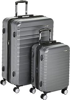 امازون بيسكس حقائب سفر بعجلات ، رمادي