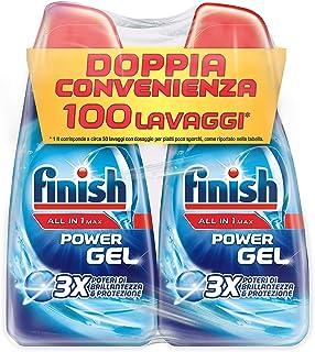 Finish vloeibaar wasmiddel voor vaatwasser, Powergel, 2622 g