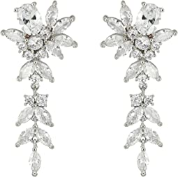 Zhane Beautiful Dangling Earrings with Floral Motif