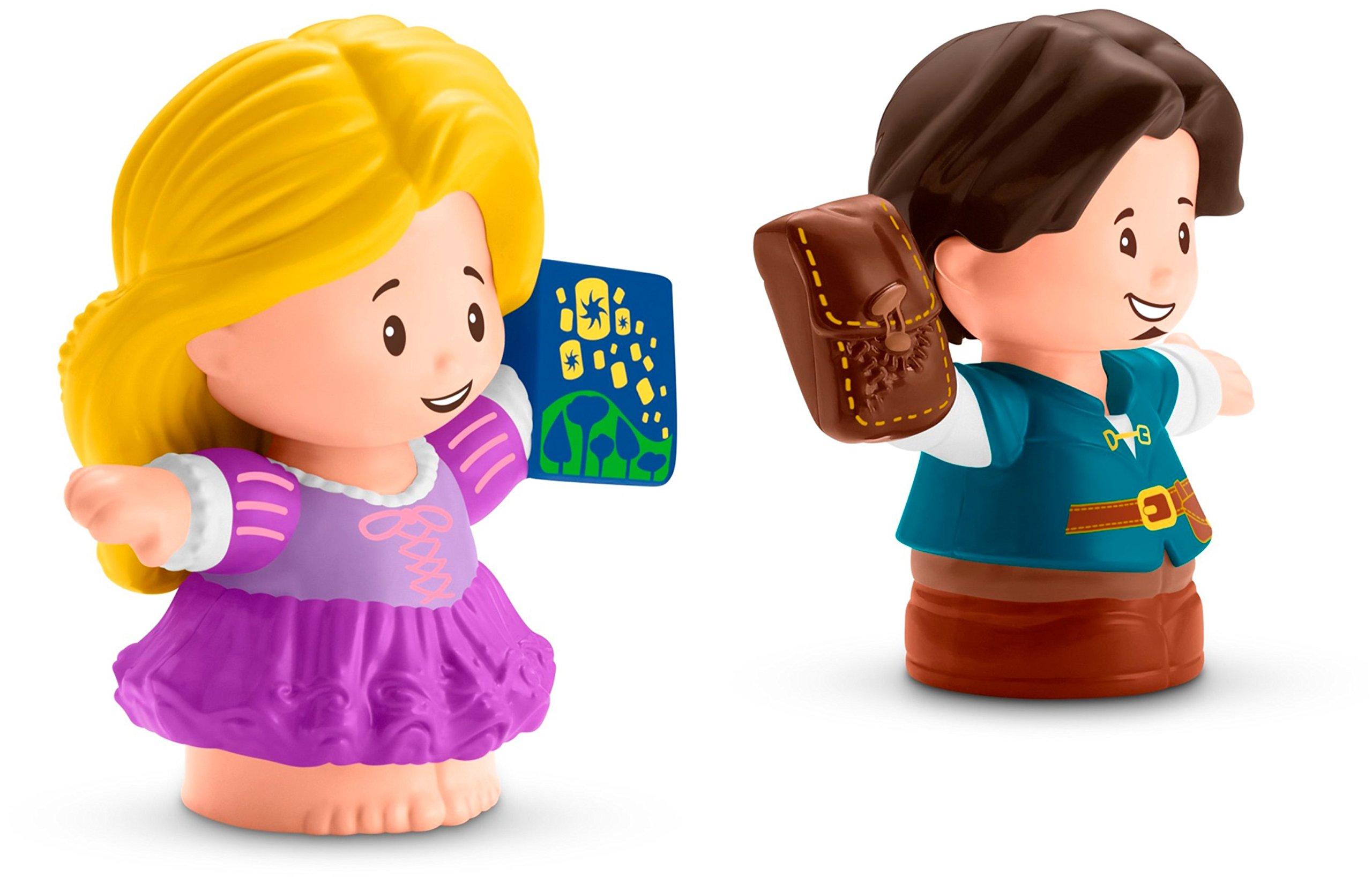Fisher-Price Little People Disney Princess, Rapunzel & Flynn Figures