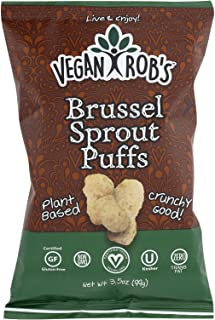 Veganrobs Puff Brussel Sprout, 3.5 oz