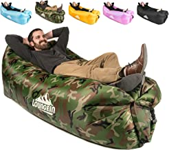 KyRush It Inflatable Lounger air Couch Chair Sofa Pouch   Lazy Hammock Blow up Bag   Lounge Outdoor at The Beach or Camping   Lay longers Chairs are The Best Outdoor Wind hammocks Around